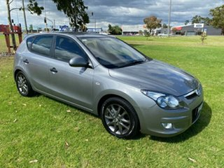2011 Hyundai i30 FD MY11 Trophy Grey 4 Speed Automatic Hatchback.