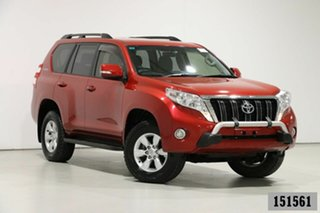 2016 Toyota Landcruiser Prado GDJ150R MY16 GXL (4x4) Red 6 Speed Automatic Wagon.
