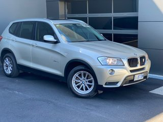 2012 BMW X3 F25 MY0412 xDrive20d Steptronic Silver 8 Speed Automatic Wagon.