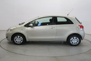 2009 Toyota Yaris NCP90R MY09 YR Gold 4 Speed Automatic Hatchback