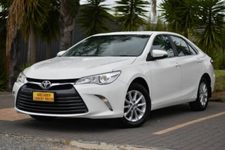 2017 Toyota Camry ASV50R Altise White 6 Speed Sports Automatic Sedan