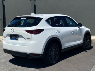 2020 Mazda CX-5 KF4WLA Touring SKYACTIV-Drive i-ACTIV AWD Snowflake White 6 Speed Sports Automatic