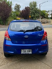 2012 Hyundai i20 PB MY12 Active Sparkle Blue/ 5 Speed Manual Hatchback