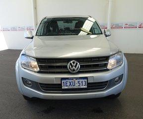 2014 Volkswagen Amarok 2H MY14 TDI400 Highline (4x4) Silver 6 Speed Manual Dual Cab Utility.
