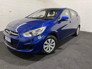 2017 Hyundai Accent RB4 MY17 Active Blue 6 Speed Constant Variable Hatchback