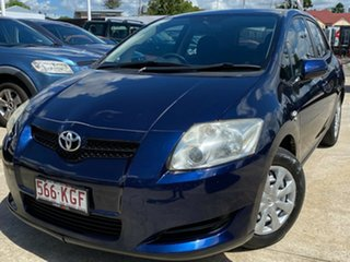 2007 Toyota Corolla ZRE152R Ascent Blue 4 Speed Automatic Hatchback.