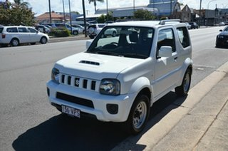 2015 Suzuki Jimny MY15 White 4 Speed Automatic 4x4 Wagon