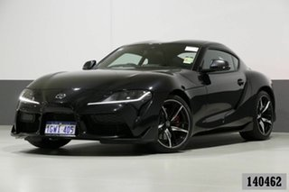 2019 Toyota Supra GR DB42R GTS Black 8 Speed Automatic Coupe.