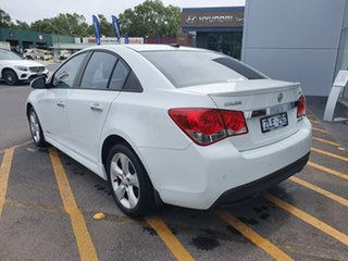 2012 Holden Cruze JH Series II MY13 SRi-V White 6 Speed Sports Automatic Sedan