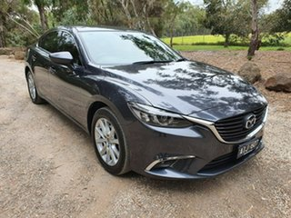2016 Mazda 6 GJ Series 2 Touring Grey Sports Automatic Sedan.