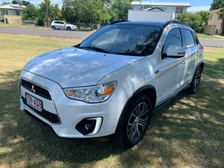 2016 Mitsubishi ASX XB MY15.5 XLS 2WD Starlight Pearl 6 Speed Constant Variable Wagon