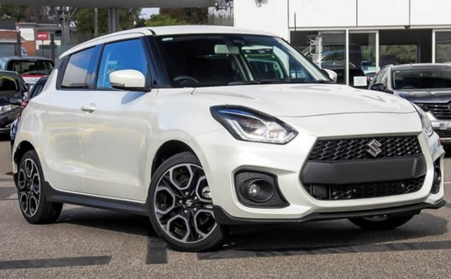 Demo Suzuki Swift AZ Series II Sport Moorooka, 2020 Suzuki Swift AZ Series II Sport Pure White Pearl 6 Speed Manual Hatchback
