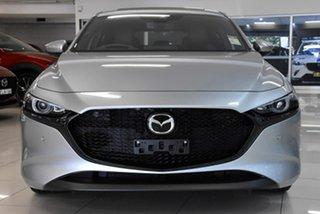 2020 Mazda 3 BP2HLA G25 SKYACTIV-Drive Astina Silver 6 Speed Sports Automatic Hatchback.