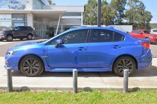2015 Subaru WRX V1 MY15 Premium Lineartronic AWD Blue 8 Speed Constant Variable Sedan.