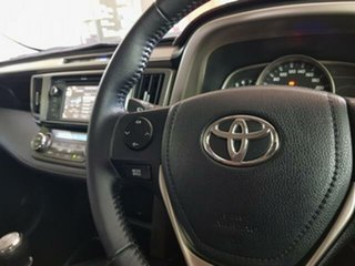 2013 Toyota RAV4 ZSA42R MY14 GXL 2WD Crystal Pearl 6 Speed Manual Wagon