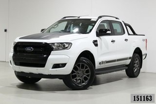 2017 Ford Ranger PX MkII MY17 FX4 Special Edition White 6 Speed Automatic Double Cab Pick Up.