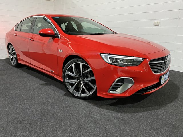 Used Holden Commodore ZB MY18 VXR Liftback AWD Glenorchy, 2018 Holden Commodore ZB MY18 VXR Liftback AWD Absolute Red 9 Speed Sports Automatic Liftback