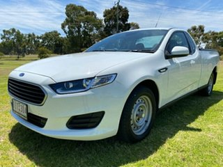 2016 Ford Falcon FG X Ute Super Cab White 6 Speed Sports Automatic Utility