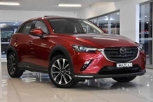 New Mazda CX-3 DK4W7A Akari SKYACTIV-Drive i-ACTIV AWD Waitara, 2020 Mazda CX-3 DK4W7A Akari SKYACTIV-Drive i-ACTIV AWD Red 6 Speed Sports Automatic Wagon