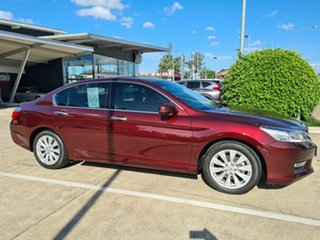 2013 Honda Accord 9th Gen MY13 VTi-S Red 5 Speed Sports Automatic Sedan.