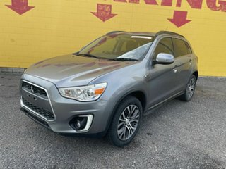 2015 Mitsubishi ASX XB MY15 LS White 6 Speed Variable Wagon