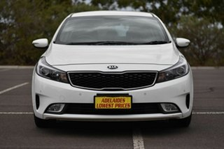 2017 Kia Cerato YD MY18 S White 6 Speed Sports Automatic Hatchback.