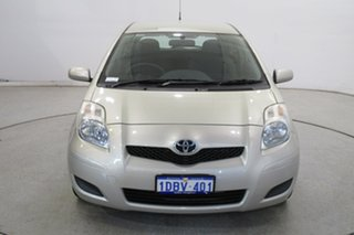 2009 Toyota Yaris NCP90R MY09 YR Gold 4 Speed Automatic Hatchback.