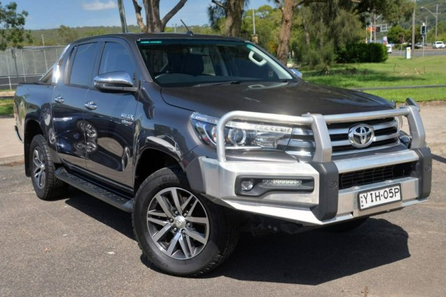 Used Toyota Hilux GUN126R SR5 Double Cab West Gosford, 2018 Toyota Hilux GUN126R SR5 Double Cab Grey 6 Speed Sports Automatic Utility