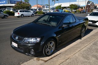 2012 Holden Commodore VE II MY12 SV6 Black 6 Speed Manual Utility