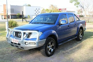 2013 Nissan Navara D40 S6 MY12 ST Blue 6 Speed Manual Utility.
