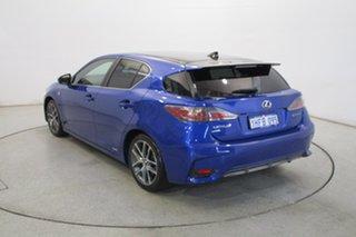 2014 Lexus CT ZWA10R MY13 CT200h F Sport Blue 1 Speed Constant Variable Hatchback Hybrid