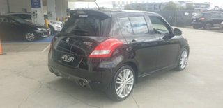 2015 Suzuki Swift FZ MY15 Sport Black 7 Speed Constant Variable Hatchback