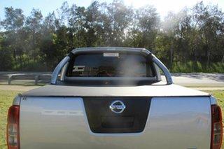 2012 Nissan Navara D40 S6 MY12 ST 4x2 Silver 6 Speed Manual Utility