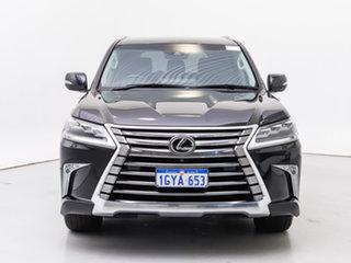 2019 Lexus LX450D VDJ201R Black 6 Speed Auto Sequential Wagon.