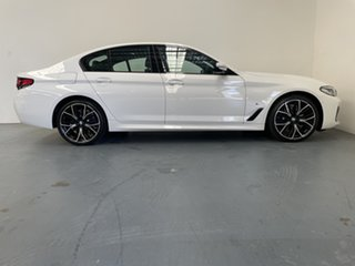 2019 BMW 5 Series G30 530i Steptronic M Sport Alpine White 8 Speed Sports Automatic Sedan.
