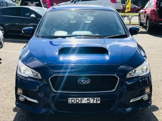 2016 Subaru Levorg V1 MY17 2.0 GT CVT AWD Blue 8 Speed Constant Variable Wagon