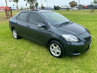 2010 Toyota Yaris NCP93R MY10 YRS Grey 4 Speed Automatic Sedan.