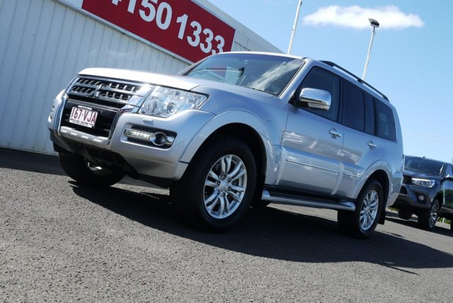 Used Mitsubishi Pajero NW MY14 Exceed Bundaberg, 2014 Mitsubishi Pajero NW MY14 Exceed Silver 5 Speed Sports Automatic Wagon