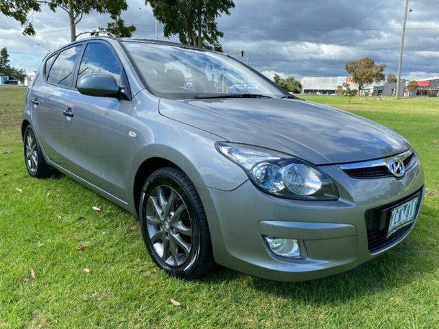 Used Hyundai i30 FD MY11 Trophy Melton, 2011 Hyundai i30 FD MY11 Trophy Grey 4 Speed Automatic Hatchback