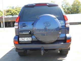 2004 Toyota Landcruiser Prado KZJ120R GXL Blue 4 Speed Automatic Wagon