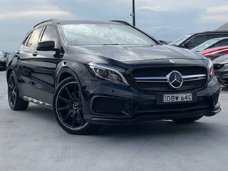 2015 Mercedes-Benz GLA-Class X156 806MY GLA45 AMG SPEEDSHIFT DCT 4MATIC Black 7 Speed.