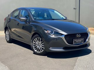 2020 Mazda 2 DL2SAA G15 SKYACTIV-Drive GT Machine Grey 6 Speed Sports Automatic Sedan
