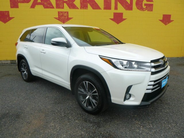 Used Toyota Kluger GSU50R GX 2WD Winnellie, 2018 Toyota Kluger GSU50R GX 2WD White 8 Speed Sports Automatic Wagon