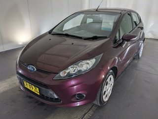 2012 Ford Fiesta WT CL Purple 5 Speed Manual Hatchback.