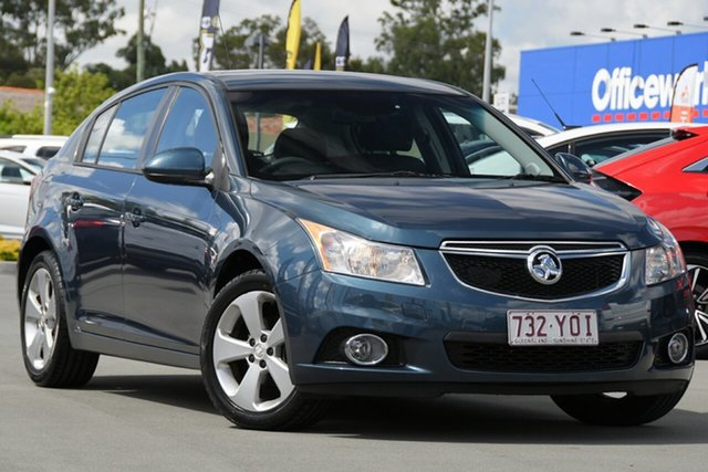 Used Holden Cruze JH Series II MY14 Equipe Aspley, 2014 Holden Cruze JH Series II MY14 Equipe Blue 6 Speed Sports Automatic Hatchback