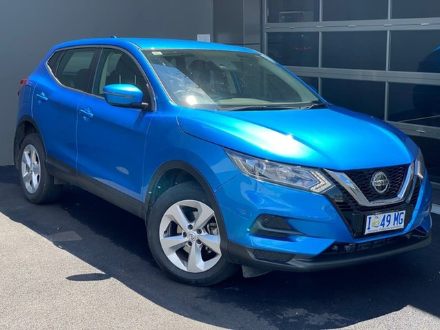 Used Nissan Qashqai J11 Series 2 ST X-tronic Hobart, 2019 Nissan Qashqai J11 Series 2 ST X-tronic Blue 1 Speed Constant Variable Wagon