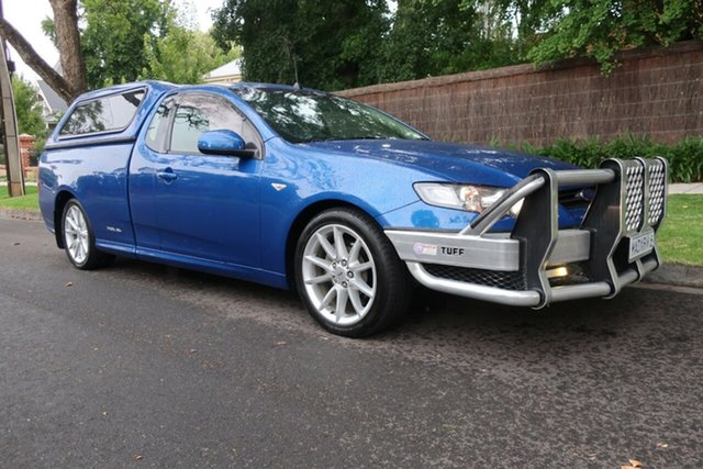 Used Ford Falcon FG MkII XR6 Super Cab Prospect, 2013 Ford Falcon FG MkII XR6 Super Cab Blue 6 Speed Sports Automatic Cab Chassis