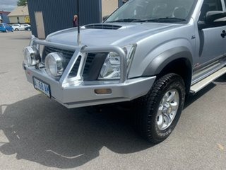 2008 Holden Rodeo RA MY08 LX Crew Cab 60th Anniversary Silver 5 Speed Manual Utility