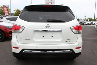 2016 Nissan Pathfinder R52 Series II MY17 ST-L X-tronic 4WD Diamond White 1 Speed Constant Variable
