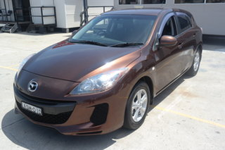 2011 Mazda 3 BL10F2 Neo Brown 6 Speed Manual Hatchback.